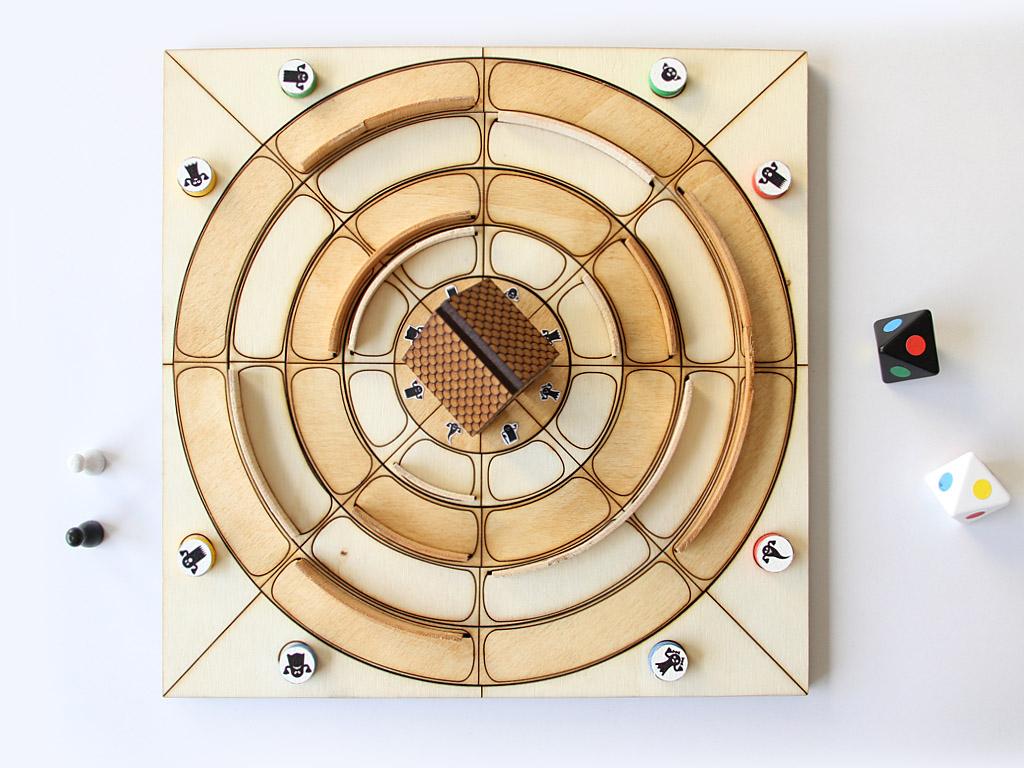 La maison mant me version jeu de plateau volumique for Jeu pour gagner une maison