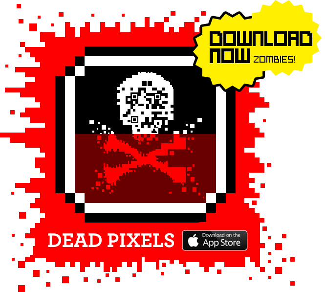 The Night of the Living Dead Pixels