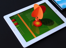 Balloon PaperApp pour iPad